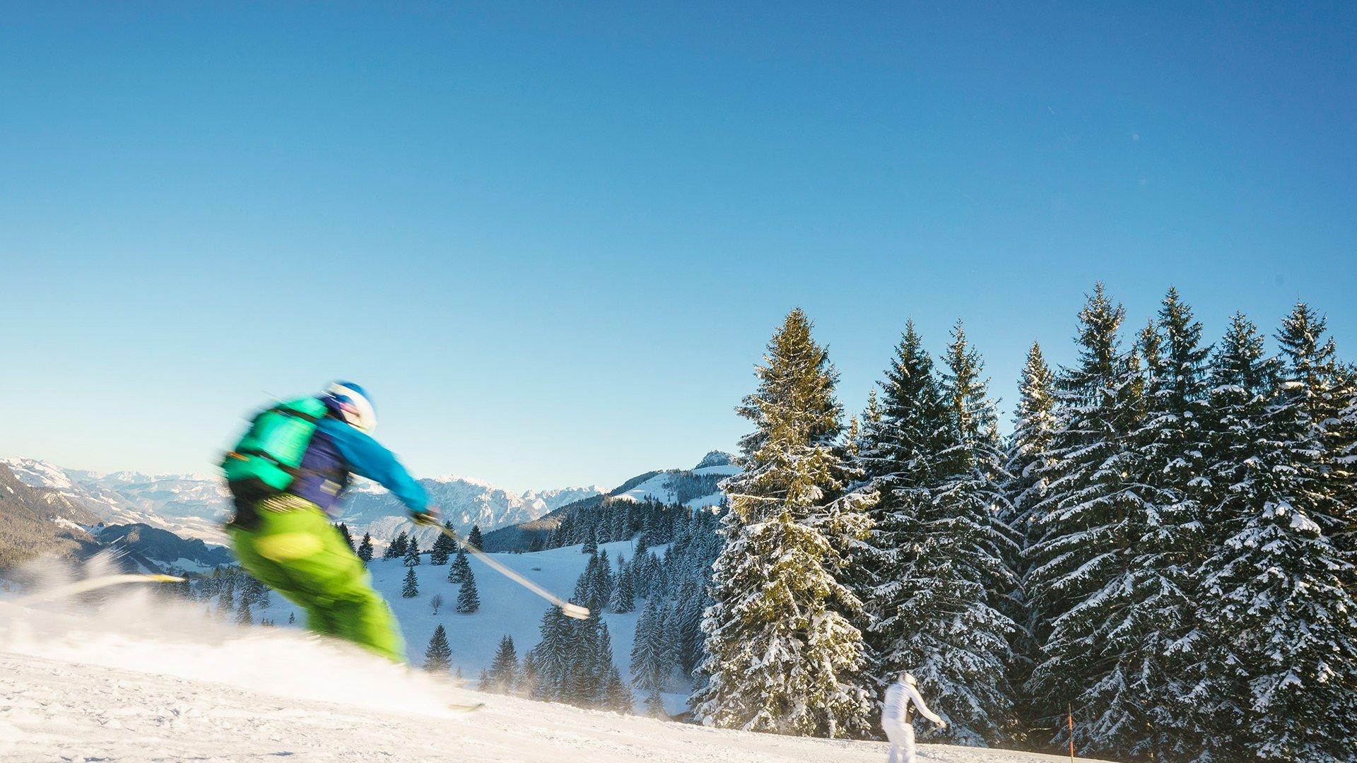Skifahren Sudelfeld Bayern, © Dietmar Denger