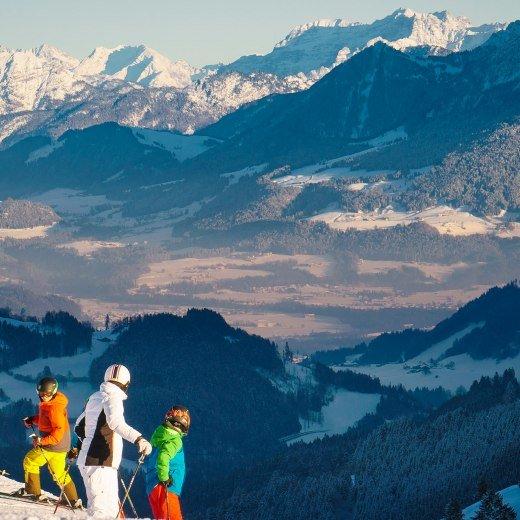 Skifahren Oberbayern Bayrischzell, © Dietmar Denger