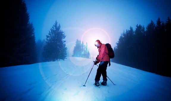 Schneeschuh-Tour Tannersteigerl zum Mittleren Sudelfeld, © Foto Wolfgang Hermann