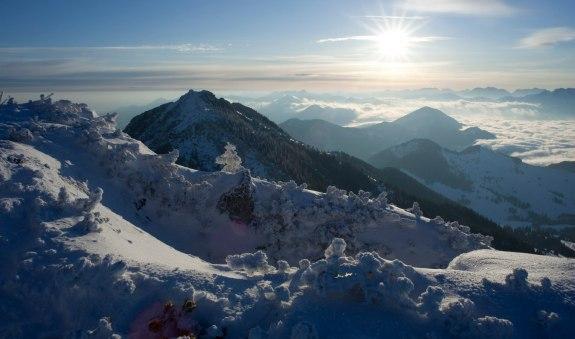 Winterwanderung von Osterhofen nach Hochkreuth, © Florian Liebenstein