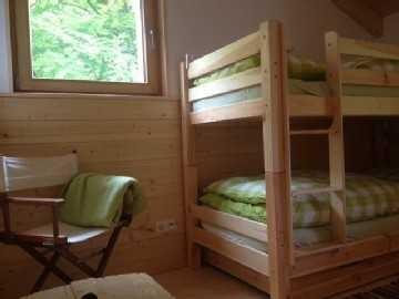 Schlafzimmer Etagenbett, © im-web.de/ Tourist-Information Bayrischzell