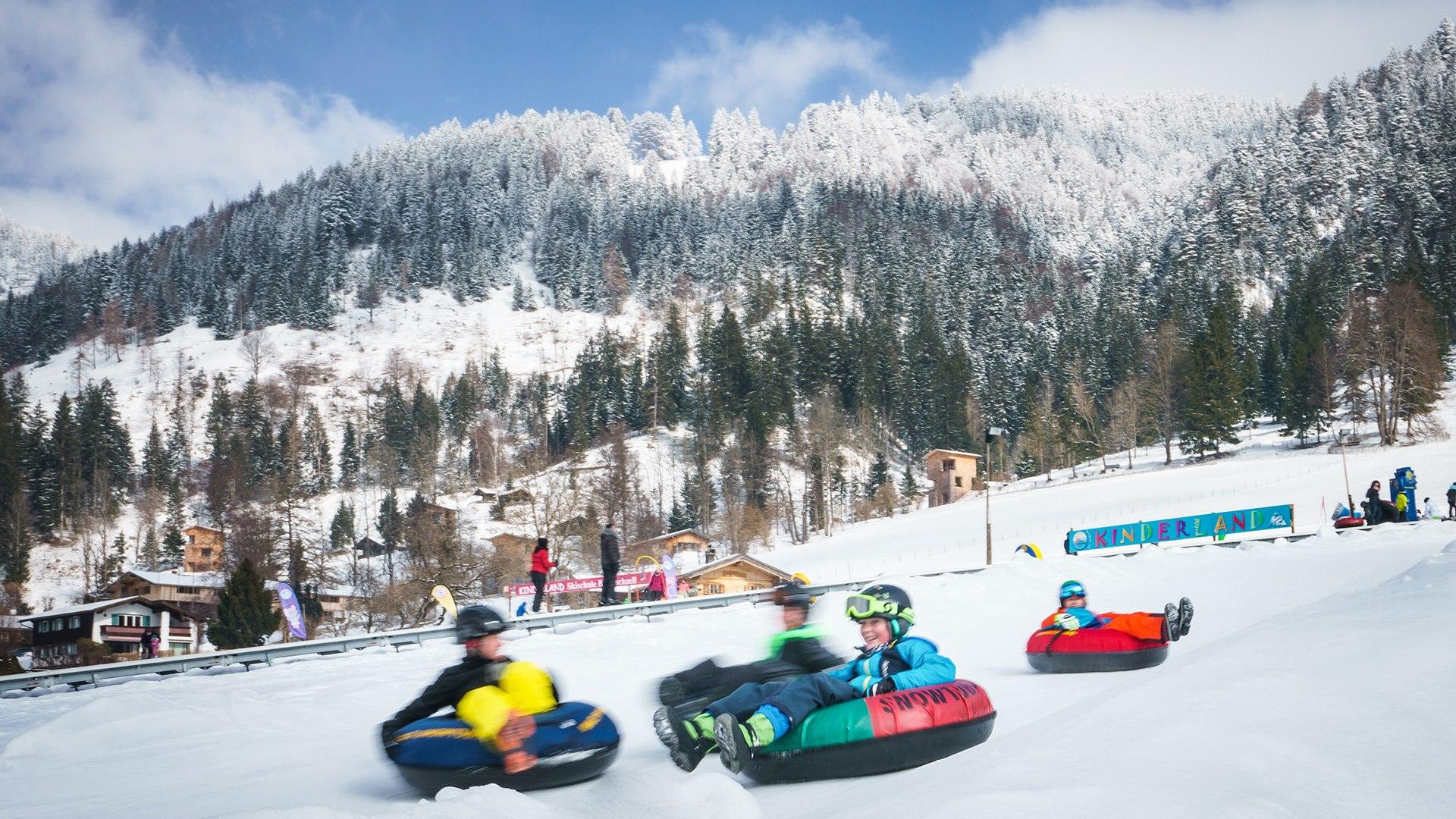 Snowtubing Bayrischzell, © Dietmar Denger