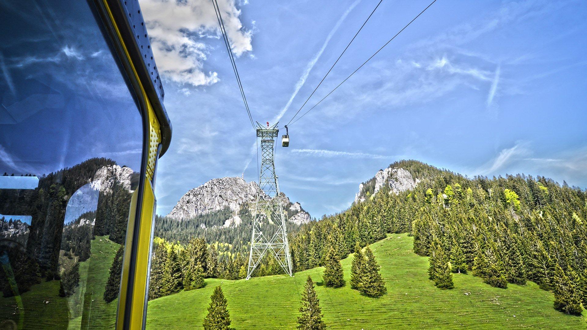 Wendelsteinseilbahn, © Florian Liebenstein