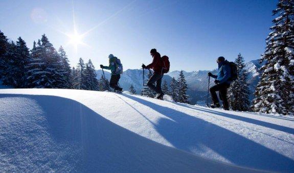 Anspruchsvolle Schneeschuhtour von Osterhofen zum Wendelstein und nach Bayrischzell