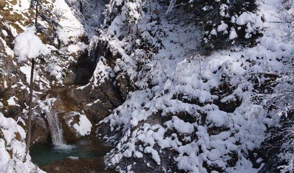 Bayrischzeller Wasserfall am Hochkreuth-Steigerl, © Willy Kravanja