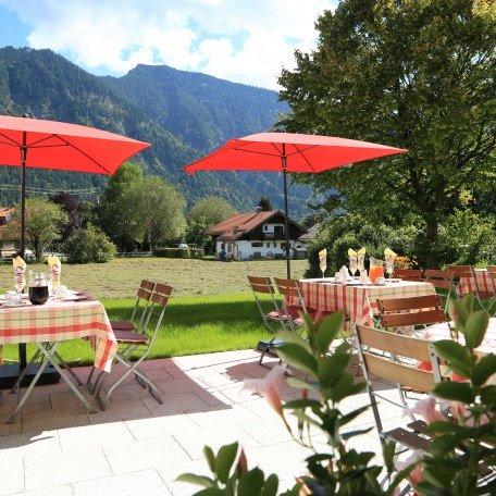 Terrasse, © im-web.de/ Tourist-Information Bayrischzell