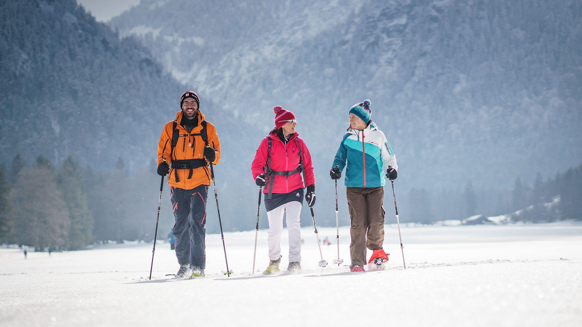 Schneeschuhtouren Bayrischzell, © Dietmar Denger