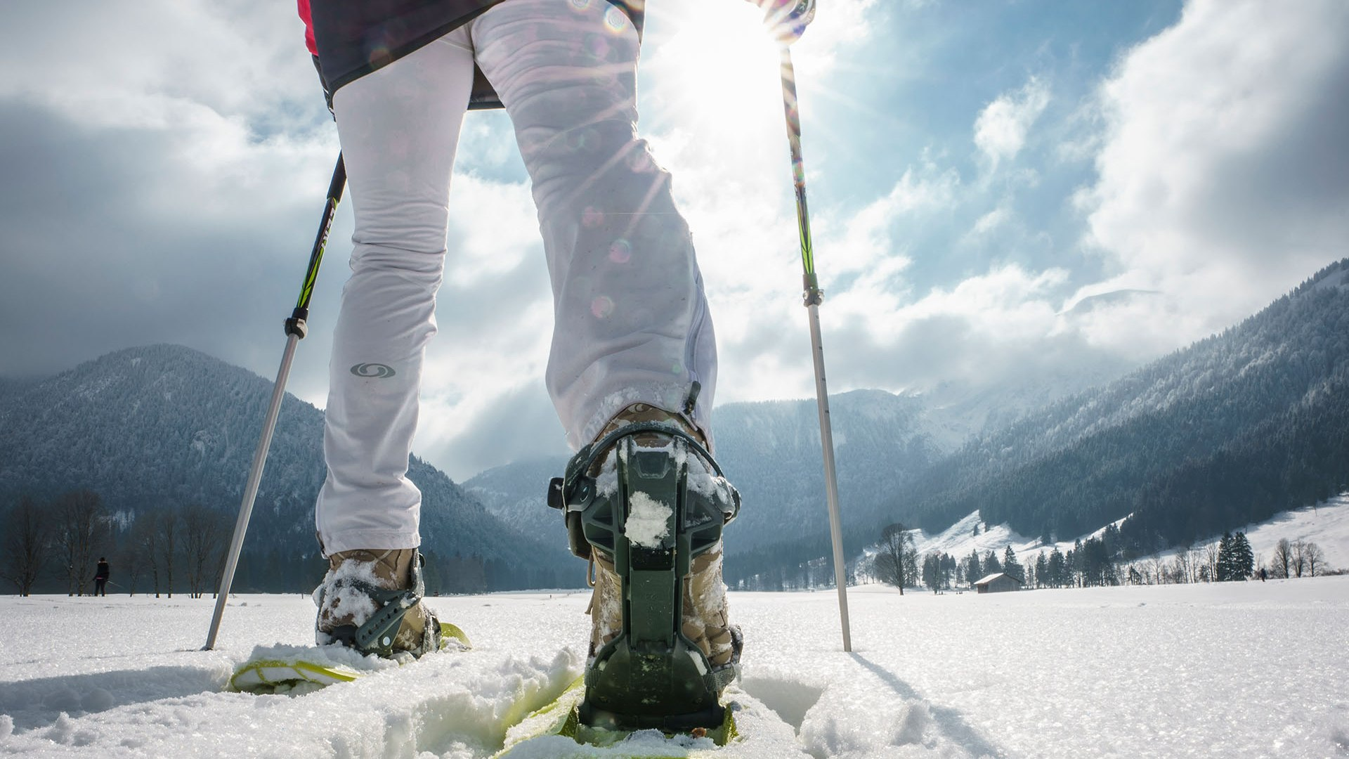 Schneeschuh Bayrsichzell, © Dietmar Denger