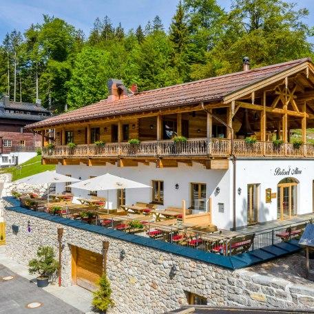 Brösel Alm am Berghotel Sudelfeld im Sommer, © im-web.de/ Tourist-Information Bayrischzell