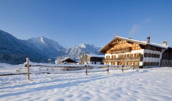 Winterwanderung von Bayrischzell nach Osterhofen und zurück