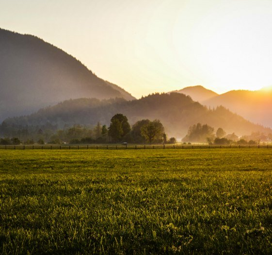 Sonnenuntergang Bayrischzell, © Florian Liebenstein