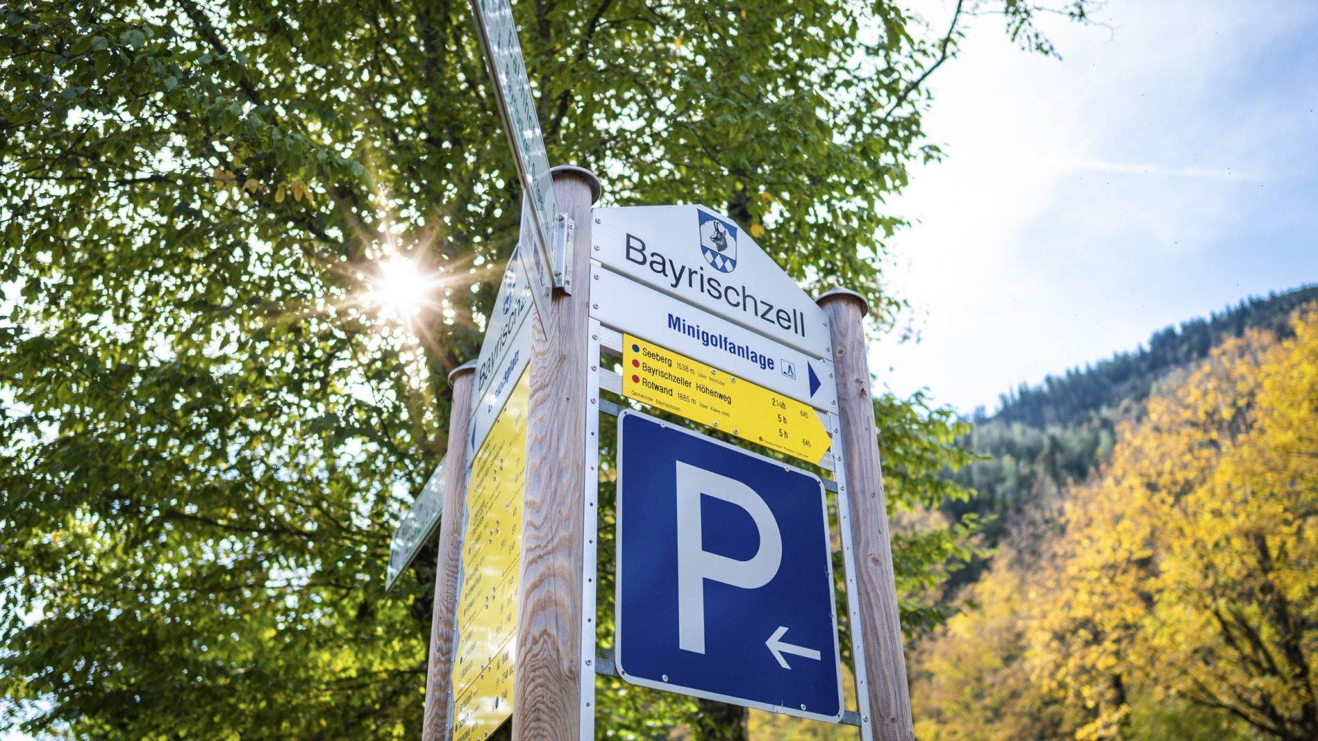 Parkplätze Bayrischzell, © Dietmar Denger