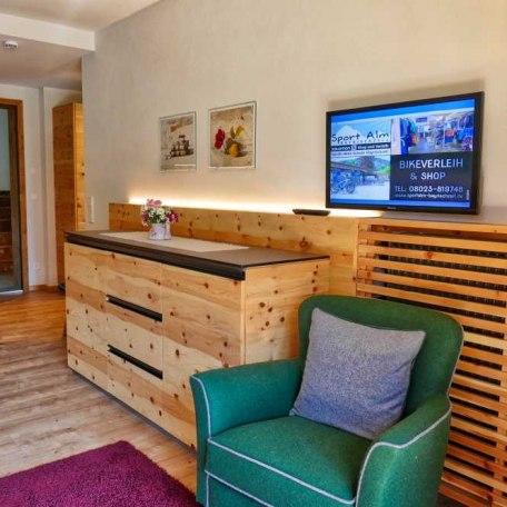 Wohnbereich App. 5, © im-web.de/ Tourist-Information Bayrischzell