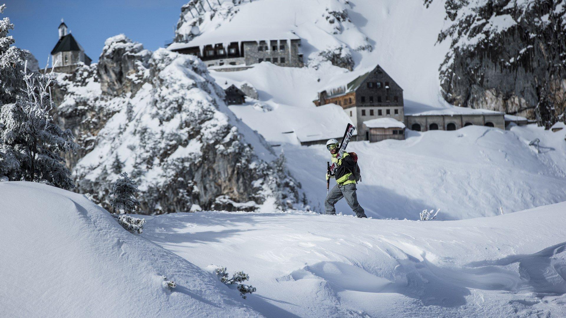 Skifahren in Bayrischzell Wendelstein, © Hansi Heckmair