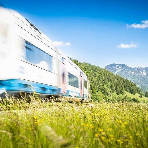 BOB Bayrischzell Anreise, © Dietmar Denger